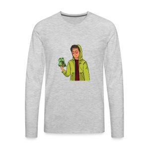 iCarriedYou Drawn Out - Men's Premium Long Sleeve T-Shirt