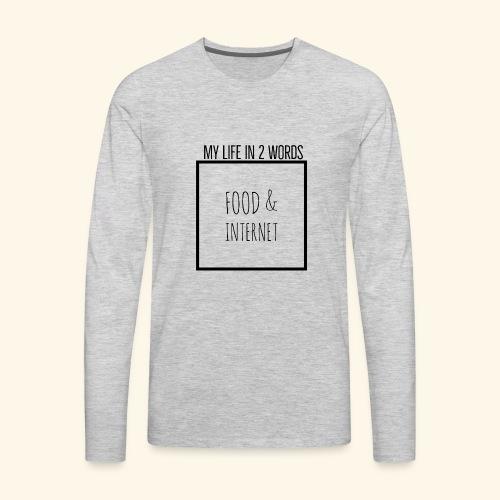 EB41B054 9076 4143 813B A25101C43DFA - Men's Premium Long Sleeve T-Shirt