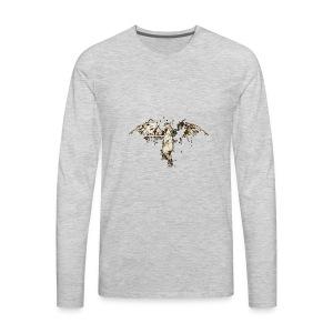 The Golden Phoenix - Prestige Apparel - Men's Premium Long Sleeve T-Shirt