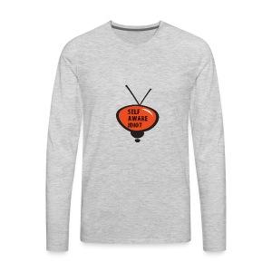SELF AWARE IDIOT - Men's Premium Long Sleeve T-Shirt