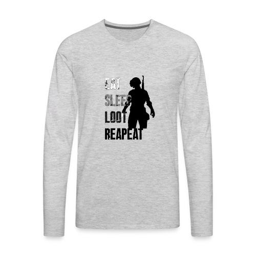 pubg - Men's Premium Long Sleeve T-Shirt