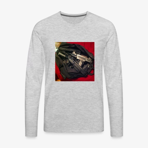 Gun Bag - Men's Premium Long Sleeve T-Shirt
