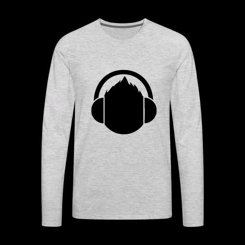 The classic Headphone guy - Men's Premium Long Sleeve T-Shirt
