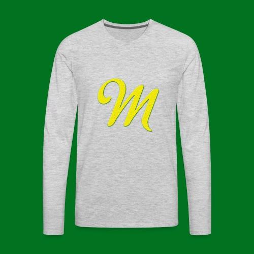 Merchant M (Yellow) - Men's Premium Long Sleeve T-Shirt