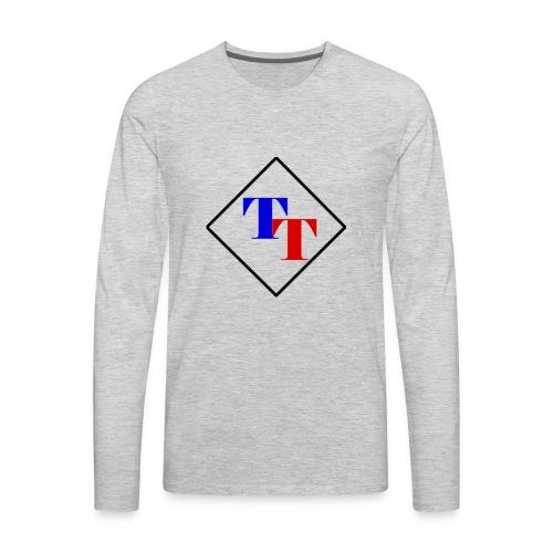 Black Diamond TaitorTot Logo - Men's Premium Long Sleeve T-Shirt