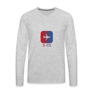 X-Fil Plane addition - Men's Premium Long Sleeve T-Shirt