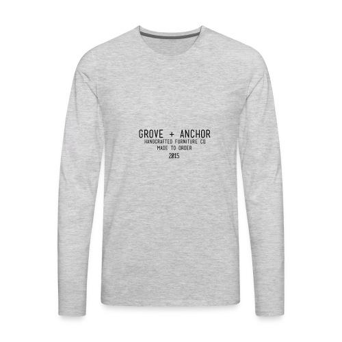 details - Men's Premium Long Sleeve T-Shirt