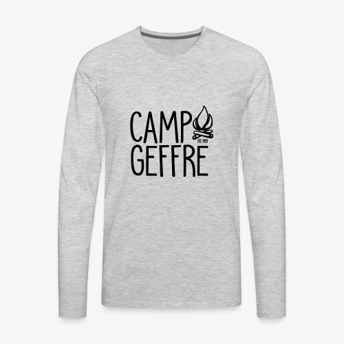 Camp Geffre 2018 - Men's Premium Long Sleeve T-Shirt