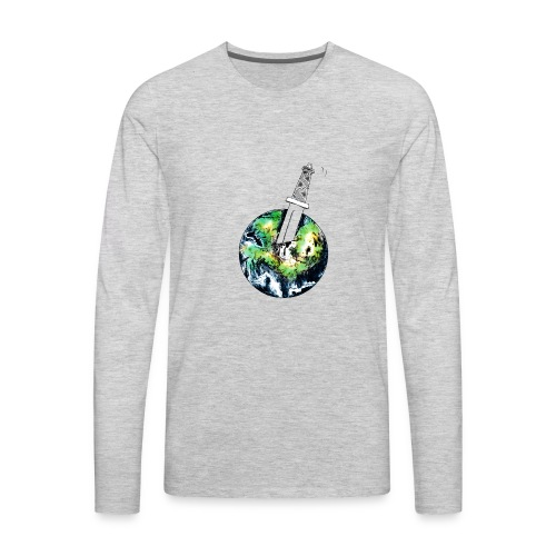 Oil Killer - Save planet - Men's Premium Long Sleeve T-Shirt