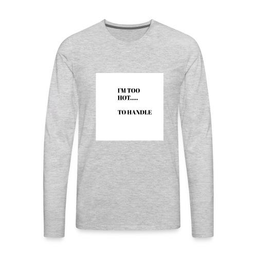 Cool and Flirty Tees - Men's Premium Long Sleeve T-Shirt