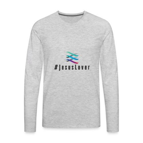 #JesusLover - Men's Premium Long Sleeve T-Shirt