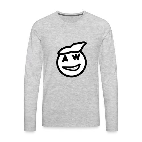 Alsis World Face - Men's Premium Long Sleeve T-Shirt