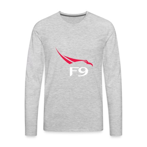 SpaceX Falcon Heavy logo - Men's Premium Long Sleeve T-Shirt