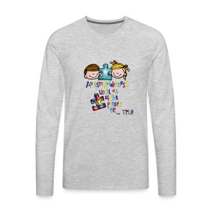 tple autism shirt - Men's Premium Long Sleeve T-Shirt
