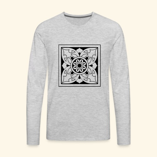 ceylon collection front 1 - Men's Premium Long Sleeve T-Shirt