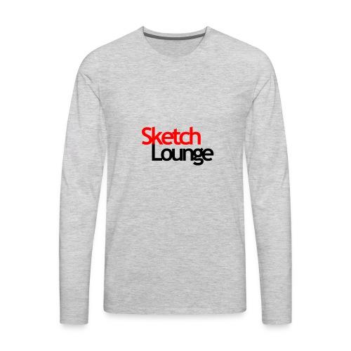 SketchLounge Logo - Men's Premium Long Sleeve T-Shirt
