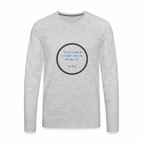 John Waters - Men's Premium Long Sleeve T-Shirt