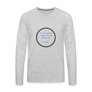 John Waters - Men's Premium Long Sleeve T-Shirt