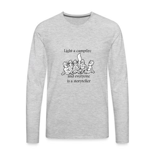 story teller - Men's Premium Long Sleeve T-Shirt