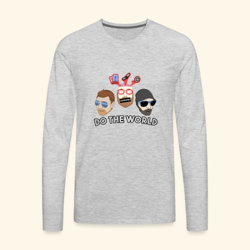 2018 Logo - Men's Premium Long Sleeve T-Shirt