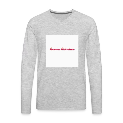 Ameera alshaheen merch - Men's Premium Long Sleeve T-Shirt