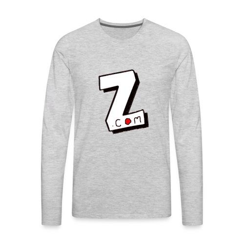 Zvigaba.com - Men's Premium Long Sleeve T-Shirt