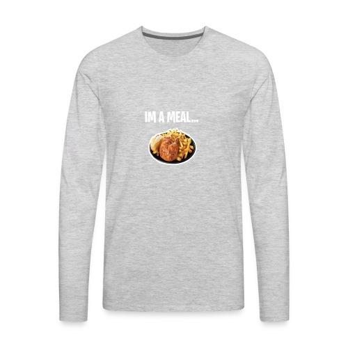 im a meal - Men's Premium Long Sleeve T-Shirt