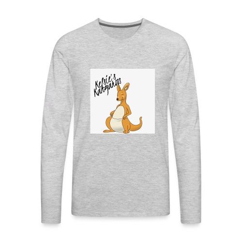 Kelsie's Kangaroos - Men's Premium Long Sleeve T-Shirt