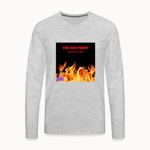 THE RED PRINT - Men's Premium Long Sleeve T-Shirt