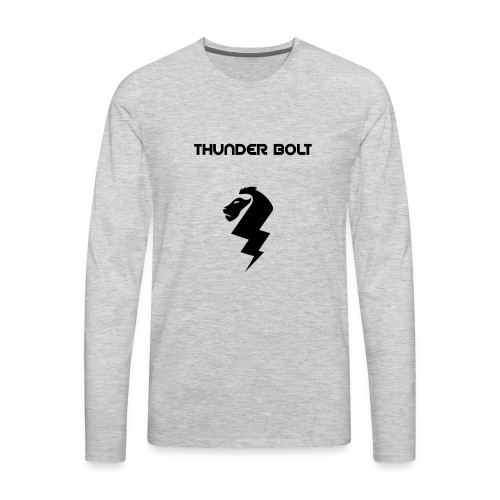 Lion thunder merch shop - Men's Premium Long Sleeve T-Shirt