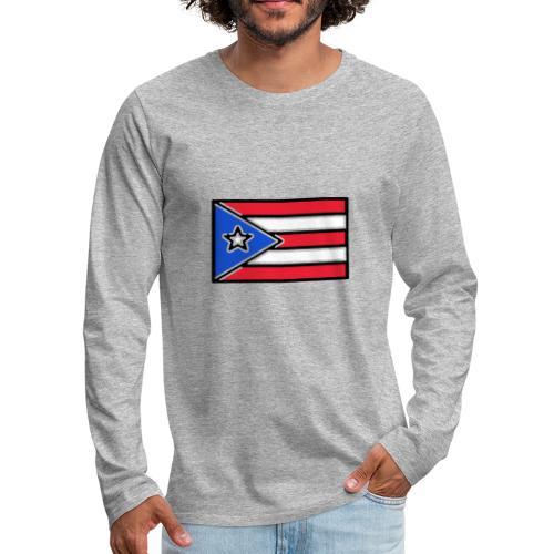 Puerto Rico - Men's Premium Long Sleeve T-Shirt