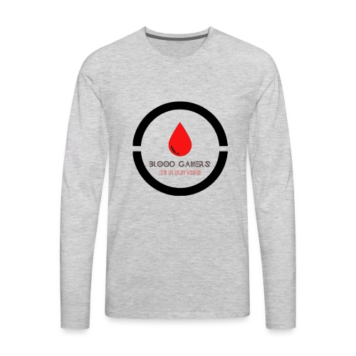1st edition Blood Gamers - Men's Premium Long Sleeve T-Shirt