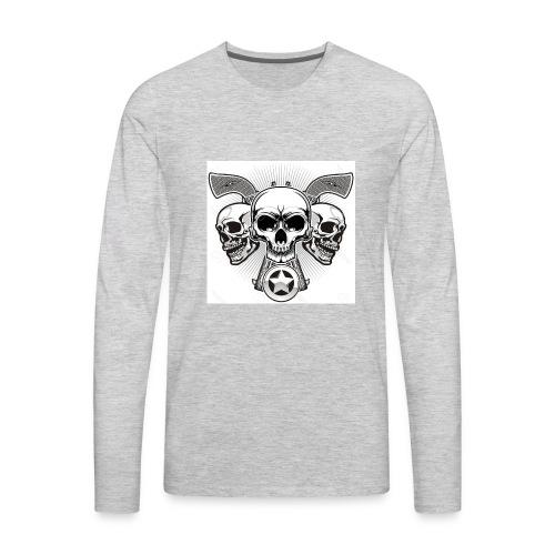 Skulls - Men's Premium Long Sleeve T-Shirt