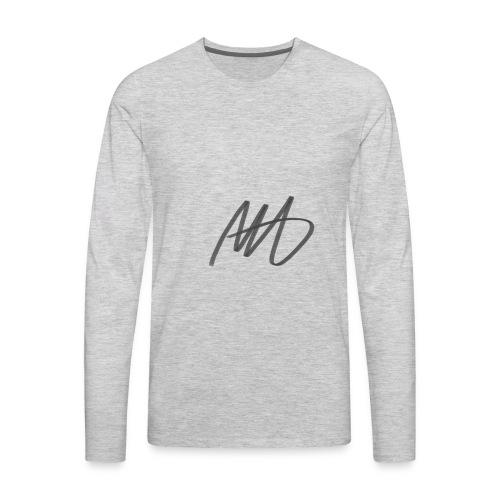 Marcus Hudson Vlogs Merch - Men's Premium Long Sleeve T-Shirt