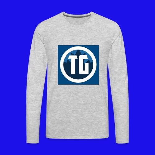Typical gamer Jr - Men's Premium Long Sleeve T-Shirt
