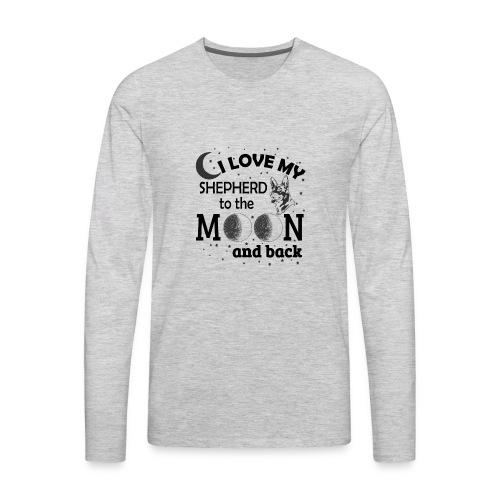 I Love My Shepherd - Men's Premium Long Sleeve T-Shirt