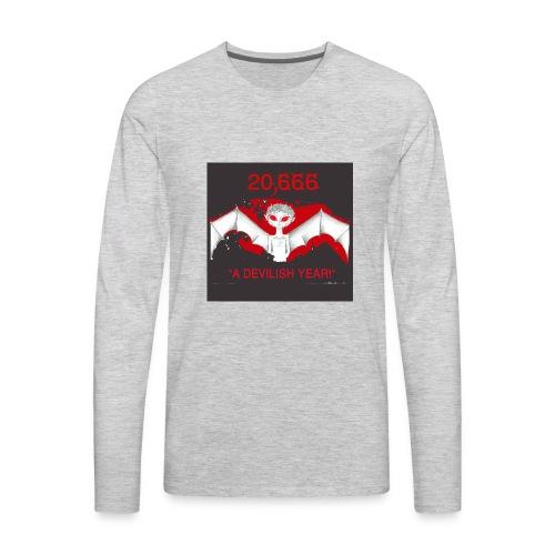 A Devilish Year T-Shirt - Men's Premium Long Sleeve T-Shirt