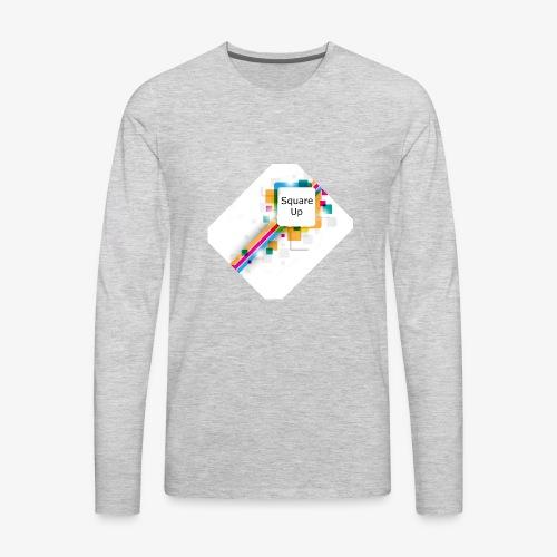 Square Up - Men's Premium Long Sleeve T-Shirt