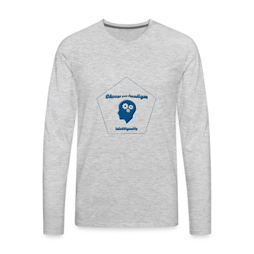 Choose your paradigm intelligently - Men's Premium Long Sleeve T-Shirt