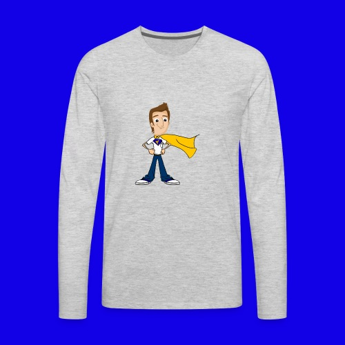 FusionPC Superhero - Men's Premium Long Sleeve T-Shirt