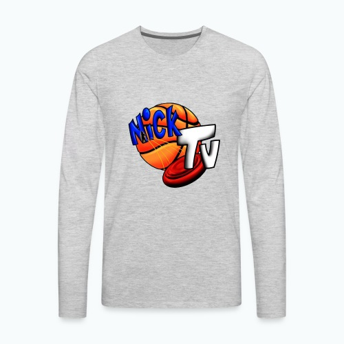 Nick TV Big and Tall - Men's Premium Long Sleeve T-Shirt