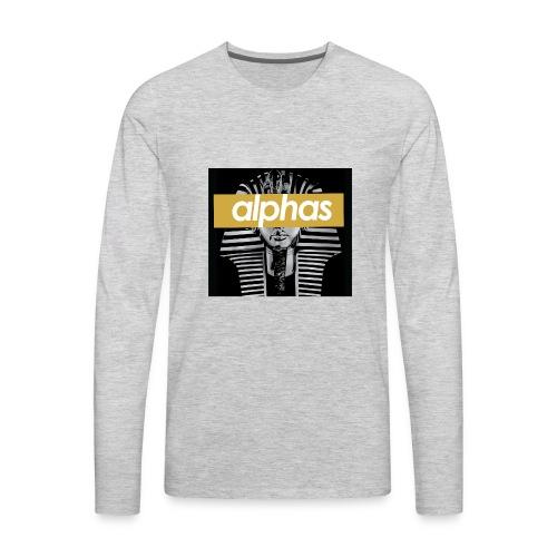 supreme alpha - Men's Premium Long Sleeve T-Shirt