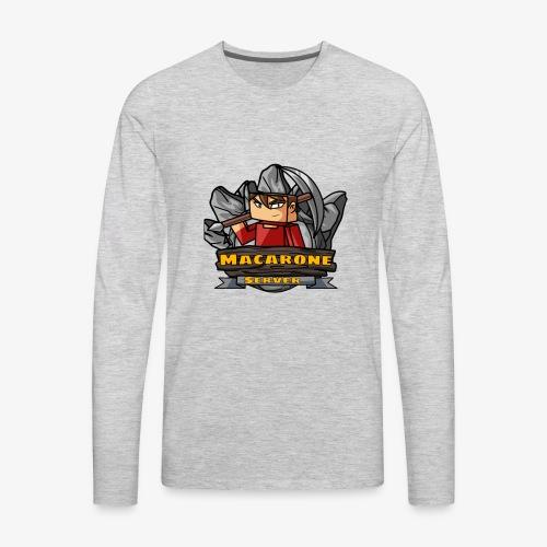 Macarone official - Men's Premium Long Sleeve T-Shirt
