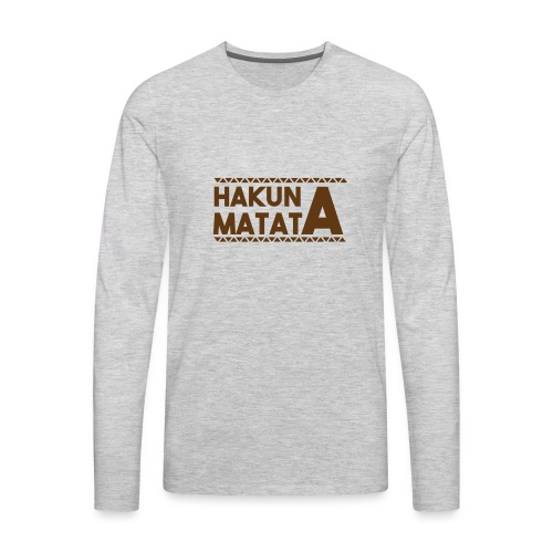 Matata 1 - Men's Premium Long Sleeve T-Shirt
