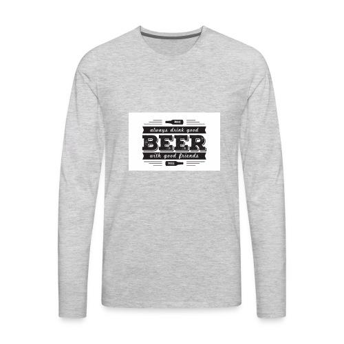 Screen Shot 2017 10 19 at 2 50 19 PM - Men's Premium Long Sleeve T-Shirt