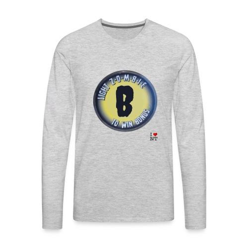 Zombie B - Men's Premium Long Sleeve T-Shirt
