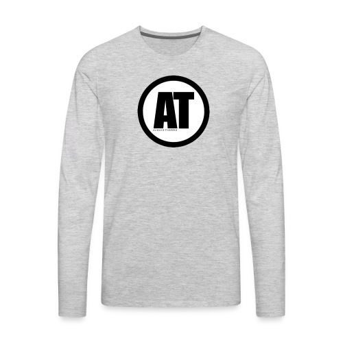 Alwayz Thero Logo - Men's Premium Long Sleeve T-Shirt