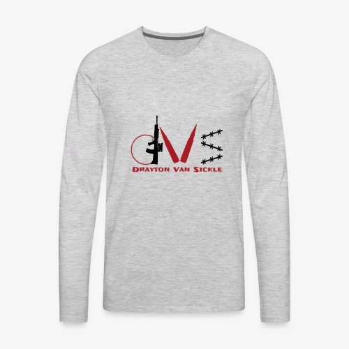 Drayton vansickle logo - Men's Premium Long Sleeve T-Shirt