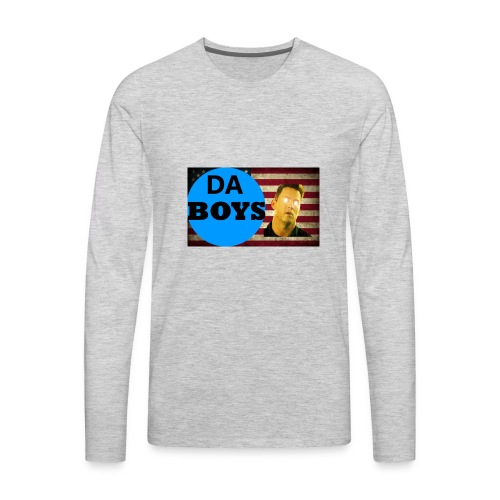 DA BOYSSS LOGO - Men's Premium Long Sleeve T-Shirt