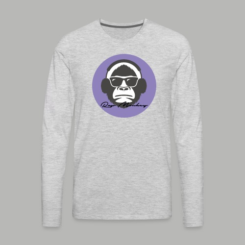 Rap monkey(Ape) Men's Premium T-Shirt - Men's Premium Long Sleeve T-Shirt